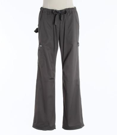 Koi Womens Tall Scrub Pants Lindsey Cut Steel