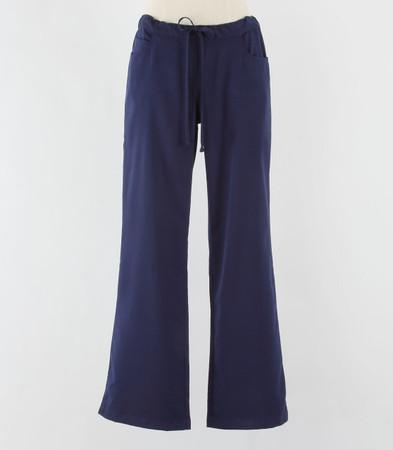 Greys Anatomy Womens Petite Scrub Pants Indigo