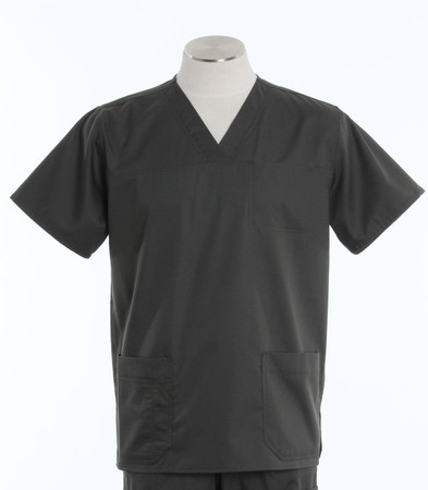 Carhartt Mens Scrub Top with Pockets Olive