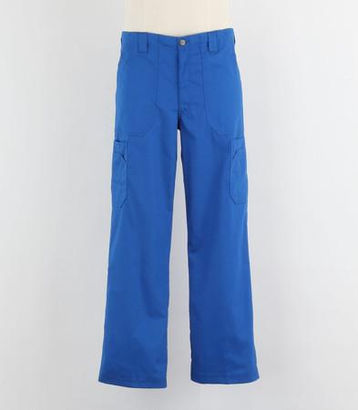 Carhartt Mens Scrub Pants with Multi Cargo Pockets Royal