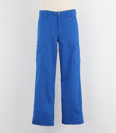 Carhartt Mens Scrub Pants with Multi Cargo Pockets Royal