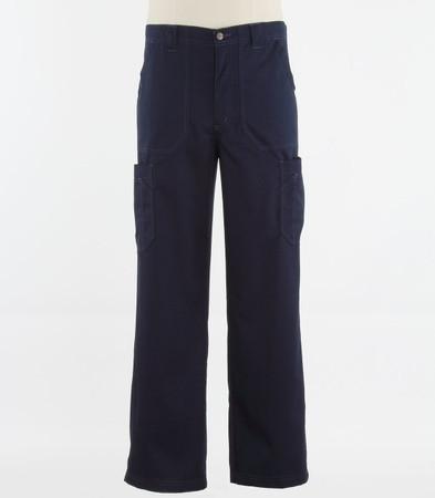 Carhartt Mens Tall Scrub Pants with Multi Cargo Pockets Navy