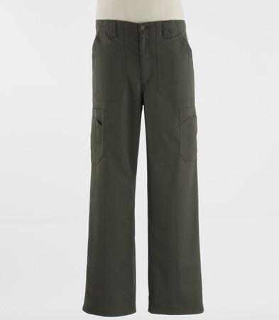 Carhartt Mens Tall Scrub Pants with Multi Cargo Pockets Olive