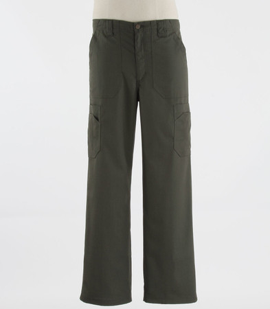 Carhartt Mens Tall Scrub Pants with Multi Cargo Pockets Olive