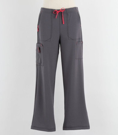 Carhartt Womens Cross Flex Boot Cut Scrub Pants Pewter