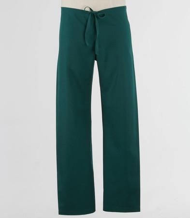 Maevn Petite Unisex Seamless Drawstring Scrub Pants Hunter Green