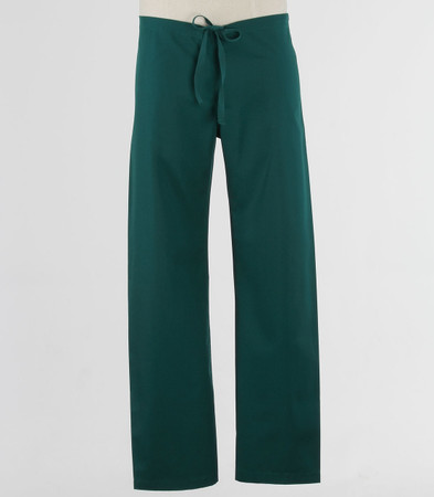 Maevn Petite Unisex Seamless Drawstring Scrub Pants Hunter Green