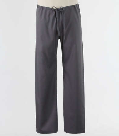 Maevn Petite Unisex Seamless Drawstring Scrub Pants Pewter