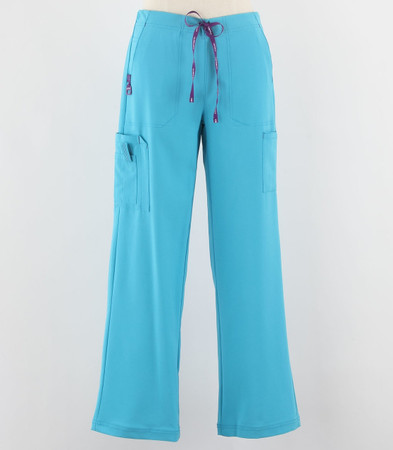 Carhartt Womens Cross Flex Boot Cut Scrub Pants Cyan