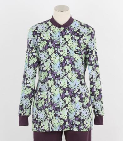 Scrub Med discount print scrub jacket shadow
