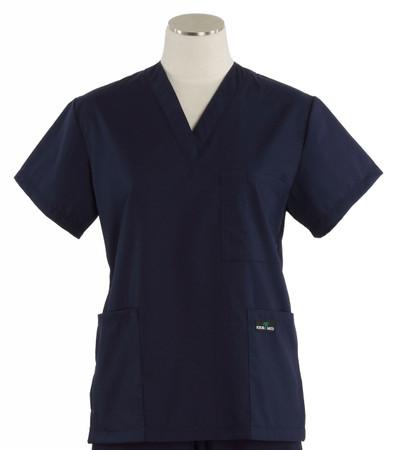 Scrub Med womens cheap v-neck scrub top twilight (scrublite)