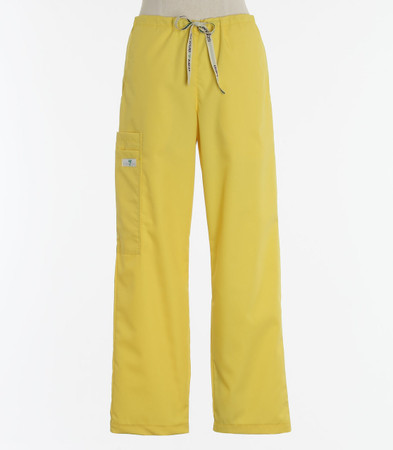 Scrub Med womens cheap drawstring scrub pants lemonade