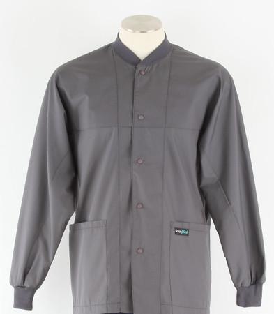 Scrub Med ROM steel lab jacket