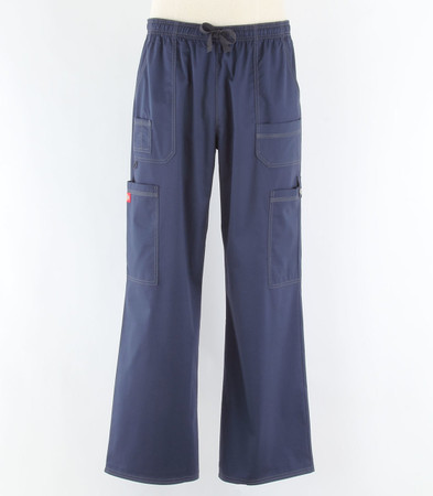 dickies gen flex mens cargo scrub pants navy