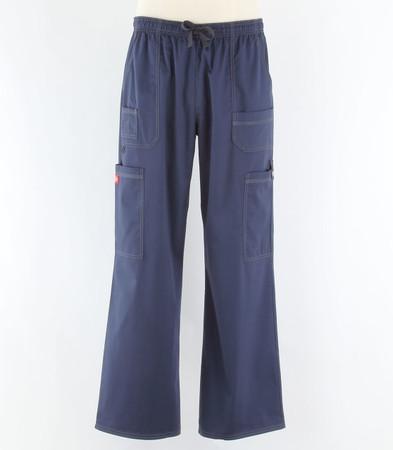 dickies gen flex mens cargo scrub pants navy