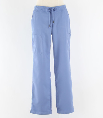 Greys Anatomy style 4277P Womens petite Scrub Pants Ciel