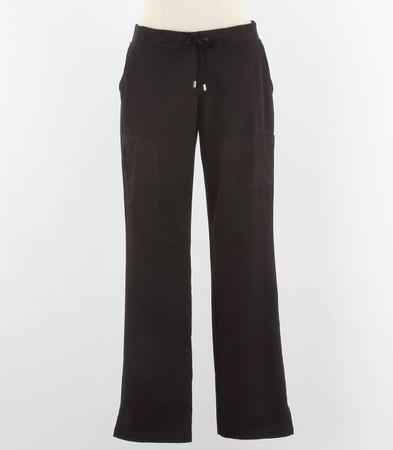 Greys Anatomy style 4277T Womens tall Black Scrub Pants
