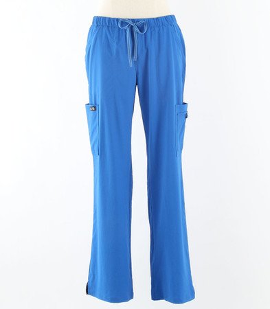 koi basics holly tall scrub pants royal