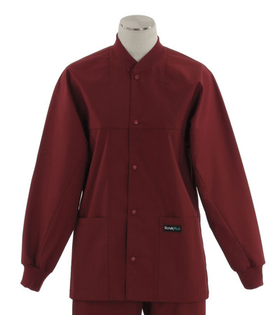 scrub med rom scrub jacket on sale currant