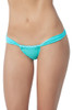 Shop this sunny days thong bikini bottom with ruched front and back