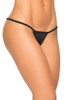 Shop this women's black g-string thong panty with y-back and low rise g string