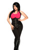Shop this faux leather cupless underbust corset by Daisy Corsets