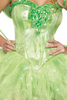 Shop this women's close up of glitter sparkle applique with Tinkerbell costume