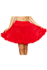 Shop this women's mid-length red petticoat