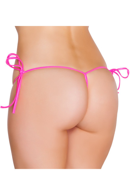 Shop this hot pink sexy g string bikini bottoms