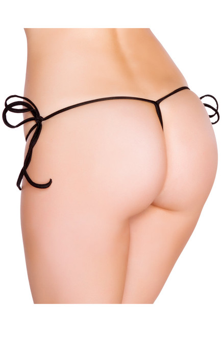 Shop this black sexy g string bikini bottoms