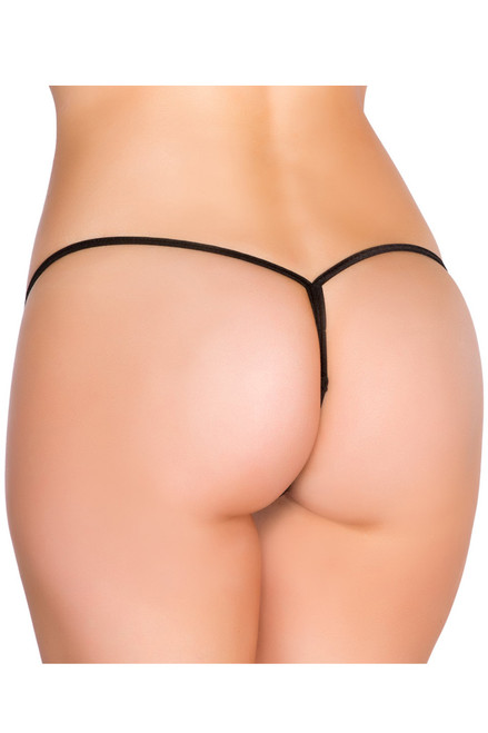 Shop this micro thong bikini with Y back thong swimwear