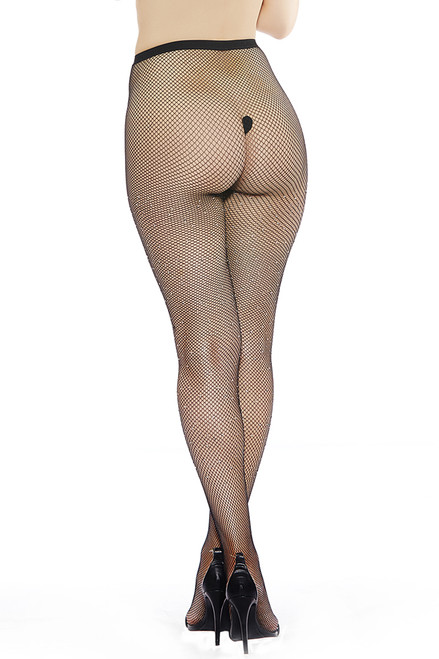 Shop this small net pantyhose with crystal rhinestones