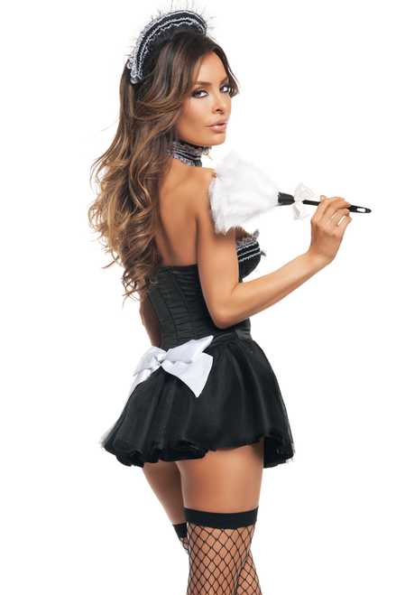 Shop this women's sexy Seductive Maid French maid costume from Starline