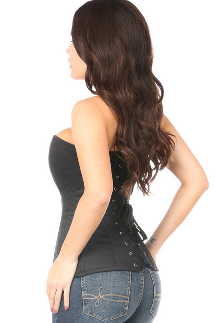Shop this corsets lingerie featuring a black cotton corset
