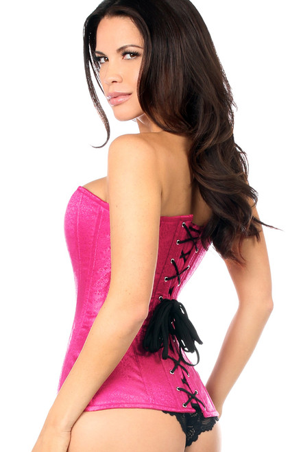 shop this fuchsia corset made by daisy corsets