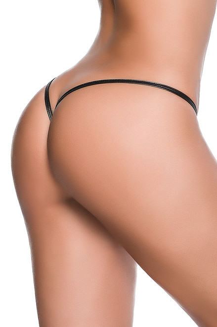 shop this exotic dancer black stripper thong with y back
