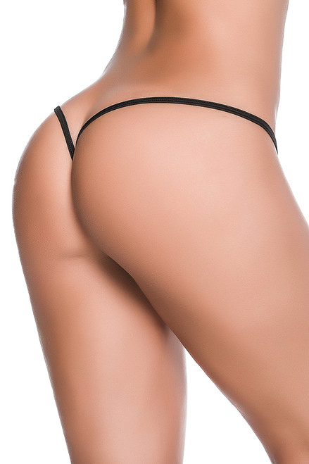 Shop this black y back  stripper thong panty