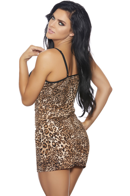 Shop this leopard print nightgown