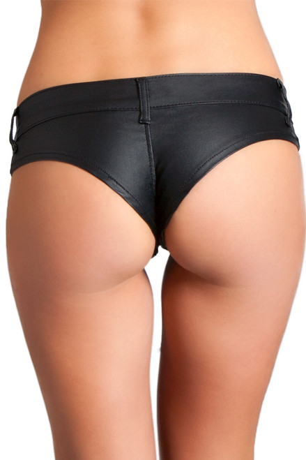 Shop these black dancewear bottoms with stretch denim material