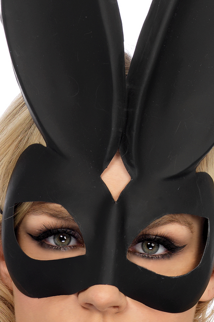 Shop these black bunny ears eye mask featuring dominatrix bunny eye mask for sexy bunny costume