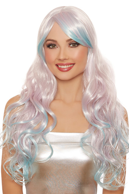 You'll be living proof that dreams do come true in this Fairytale Sweetheart Ombre Wig!