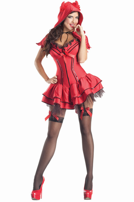 Hotter than fire, this costume is sure to satisfy your heart's desire! Shop this Hellion Hottie costume online today!
