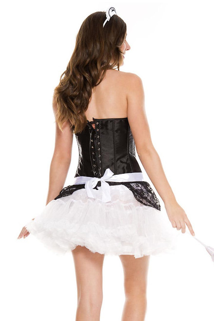Shop this women's French maid accessory kit with apron headpiece and choker