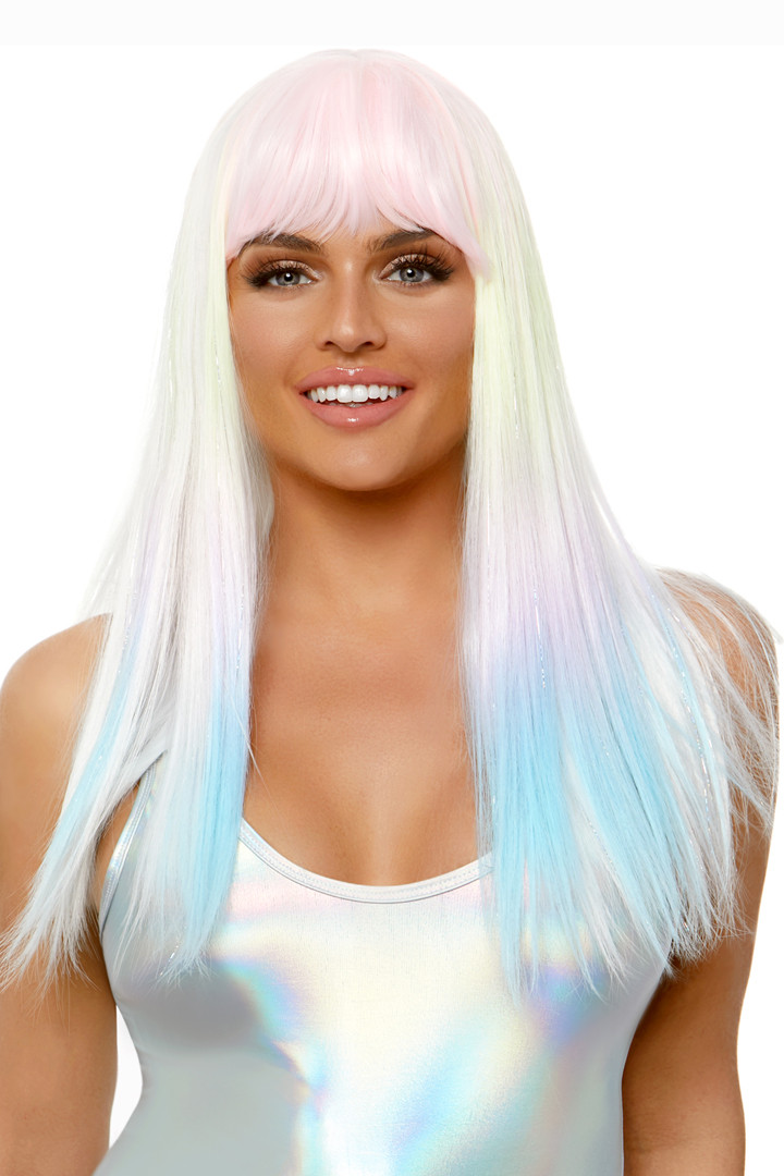 """24"""" Pastel Ombre Straight Wig"""