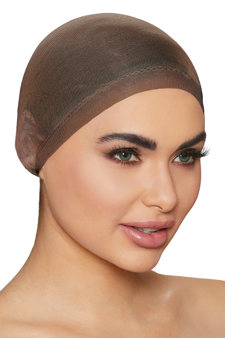 Barely There Brown Wig Cap