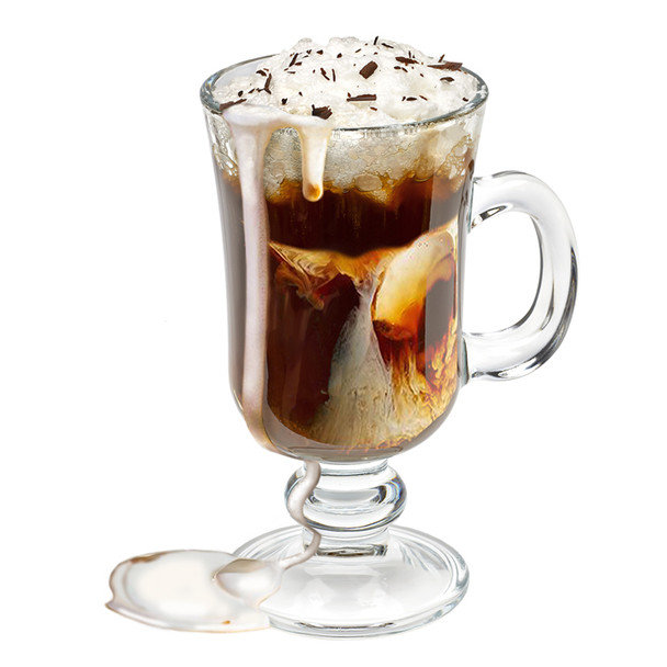 Coffee Liqueur and Irish Cream