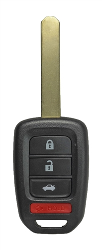 Honda Accord OEM 4 Button Key Fob