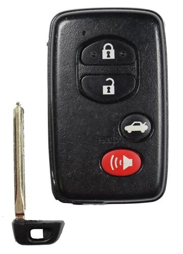 Scion FR-S OEM 4 Button Key Fob