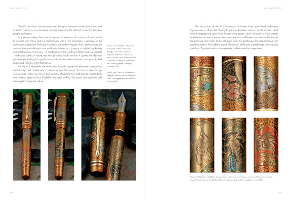 Fountain Pens of Japan pages 408-409