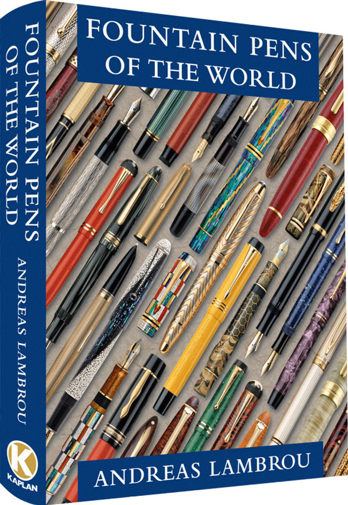 Fountain Pens of the World by Andreas Lambrou, Kaplan Limited Edition, Signed by the author